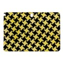 HOUNDSTOOTH2 BLACK MARBLE & YELLOW WATERCOLOR Samsung Galaxy Tab Pro 12.2 Hardshell Case View1