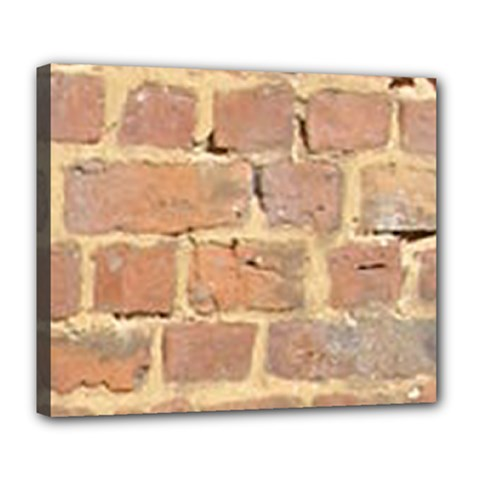 Brick Wall Deluxe Canvas 24  X 20