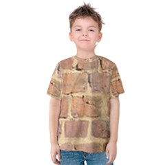 Brick Wall Kids  Cotton Tee