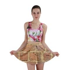 Brick Wall Mini Skirt