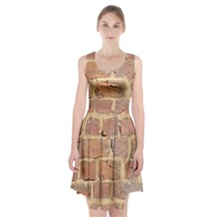 Brick Wall Racerback Midi Dress