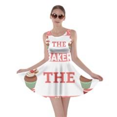 Kiss The Baker Skater Dress