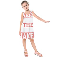 Kiss The Baker Kids  Sleeveless Dress
