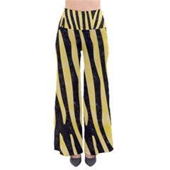 Skin4 Black Marble & Yellow Watercolor Pants