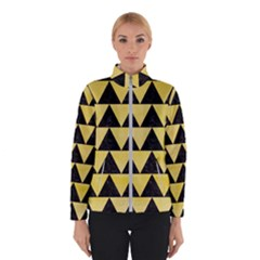 Triangle2 Black Marble & Yellow Watercolor Winterwear