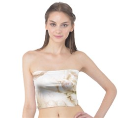 Pastel Roses Antique Vintage Tube Top