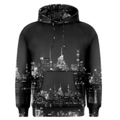 New York Skyline Men s Pullover Hoodie