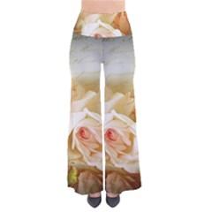 Roses Vintage Playful Romantic Pants