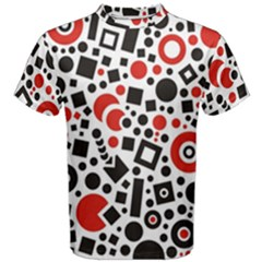 Square Objects Future Modern Men s Cotton Tee