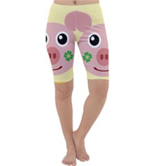 Luck Lucky Pig Pig Lucky Charm Cropped Leggings