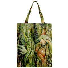 Chung Chao Yi Automatic Drawing Zipper Classic Tote Bag