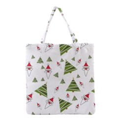 Christmas Santa Claus Decoration Grocery Tote Bag