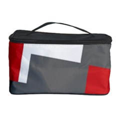 Cross Abstract Shape Line Cosmetic Storage Case