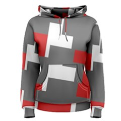 Cross Abstract Shape Line Women s Pullover Hoodie