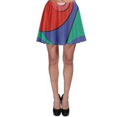 Clipart Portrait Illustration Skater Skirt
