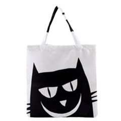 Cat Vector Clipart Figure Animals Grocery Tote Bag