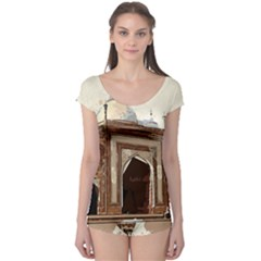 Agra Taj Mahal India Palace Boyleg Leotard