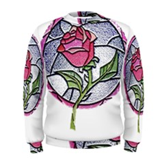 Beauty And The Beast Rose Men s Sweatshirt
