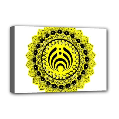 Bassnectar Sunflower Deluxe Canvas 18  X 12