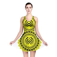Bassnectar Sunflower Reversible Skater Dress