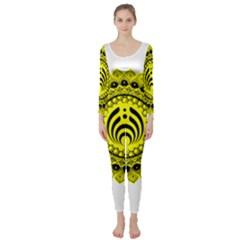 Bassnectar Sunflower Long Sleeve Catsuit