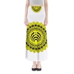 Bassnectar Sunflower Full Length Maxi Skirt