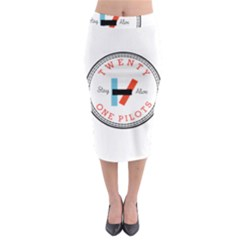 Twenty One Pilots Midi Pencil Skirt