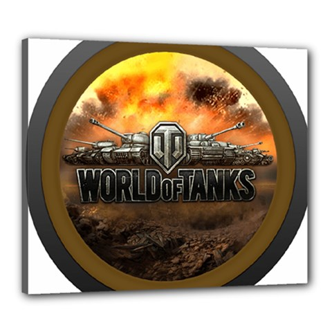 World Of Tanks Wot Canvas 24  X 20
