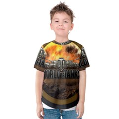 World Of Tanks Wot Kids  Cotton Tee