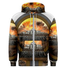 World Of Tanks Wot Men s Zipper Hoodie