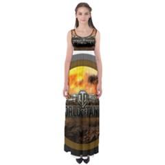 World Of Tanks Wot Empire Waist Maxi Dress