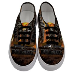 World Of Tanks Wot Men s Classic Low Top Sneakers