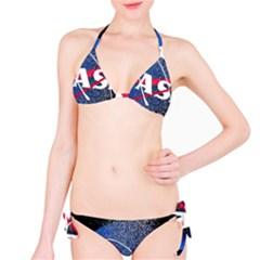 Nasa Logo Bikini Set