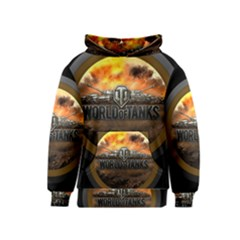 World Of Tanks Wot Kids  Pullover Hoodie
