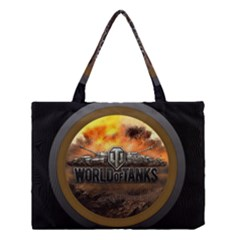 World Of Tanks Wot Medium Tote Bag