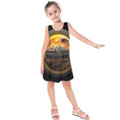 World Of Tanks Wot Kids  Sleeveless Dress