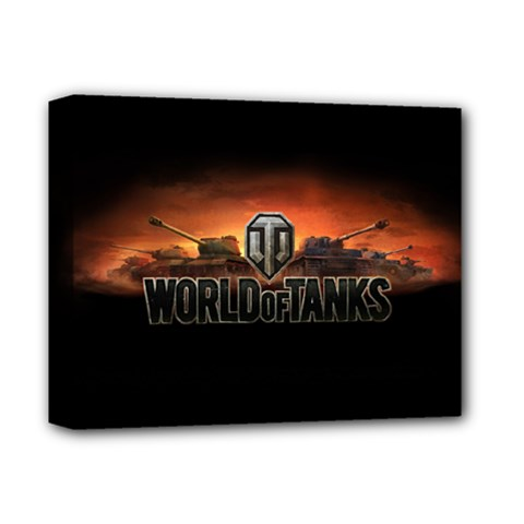 World Of Tanks Deluxe Canvas 14  X 11