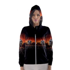 World Of Tanks Hooded Wind Breaker (women)