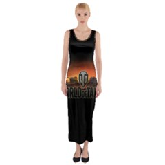 World Of Tanks Fitted Maxi Dress