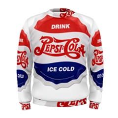 Pepsi Cola Bottle Cap Style Metal Men s Sweatshirt