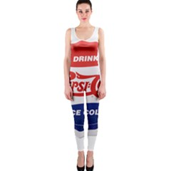 Pepsi Cola Bottle Cap Style Metal Onepiece Catsuit