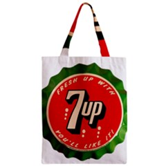 Fresh Up With  7 Up Bottle Cap Tin Metal Classic Tote Bag