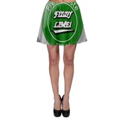 Fresh Taste Fizzy Lime Bottle Cap Skater Skirt