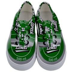 Fresh Taste Fizzy Lime Bottle Cap Kids  Classic Low Top Sneakers
