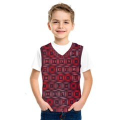 Classic Blocks,red Kids  Sportswear