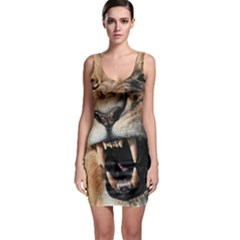 Male Lion Angry Bodycon Dress
