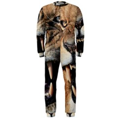 Male Lion Angry Onepiece Jumpsuit (men)