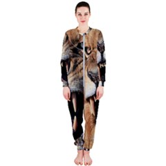 Male Lion Angry Onepiece Jumpsuit (ladies)