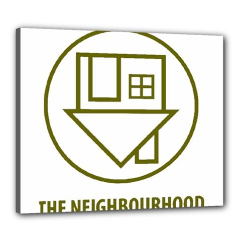 The Neighbourhood Logo Canvas 24  X 20