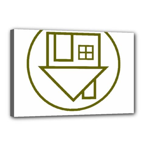 The Neighbourhood Logo Canvas 18  X 12